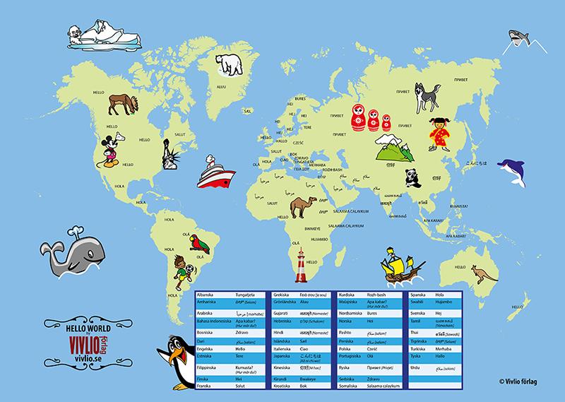 Karta med ordet
